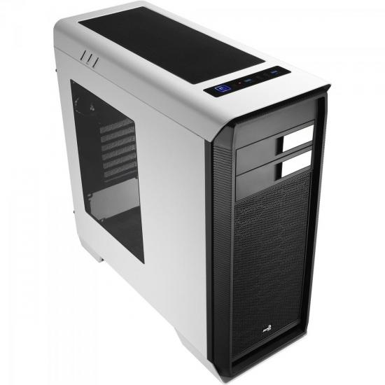 Gabinete Gamer Mid Tower AERO-1000 EN55309 Branco