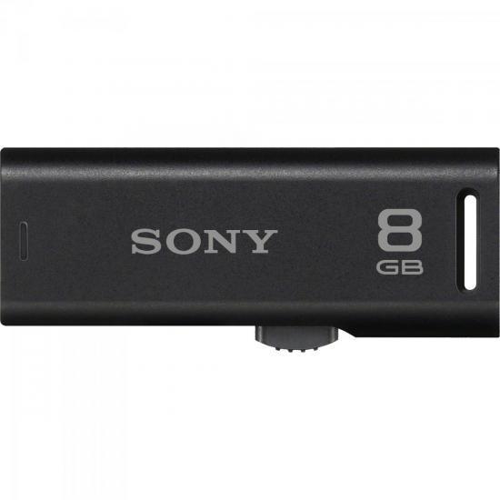 Pen Drive 8GB Flash USB USM8GR/BM Preto SONY