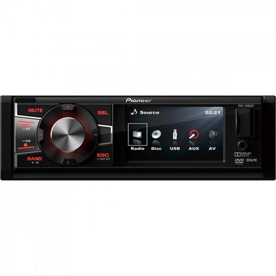 Auto Rádio CD/DVD/USB/AM/FM DVH-7880AV PIONEER