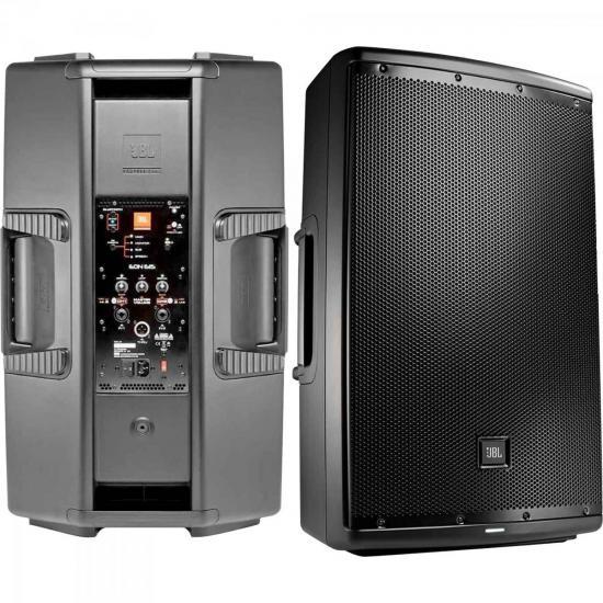 Caixa Acústica Ativa 1000W EON615 Preta JBL