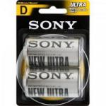 Pilha Zinco Carbono D ULTRA HEAVY DUTY SUM1-NUB2A SONY