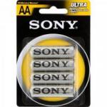 Pilha Zinco Carbono AA ULTRA HEAVY DUTY SUM3-NUB4A SONY