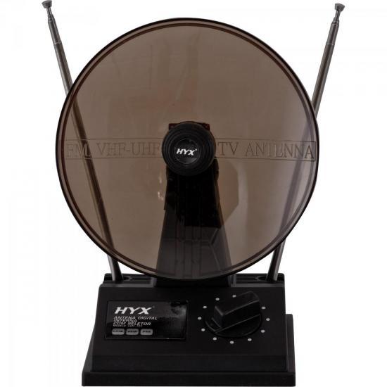 Antena UHF/VHF/FM Interna UVFI-101 Preta HYX