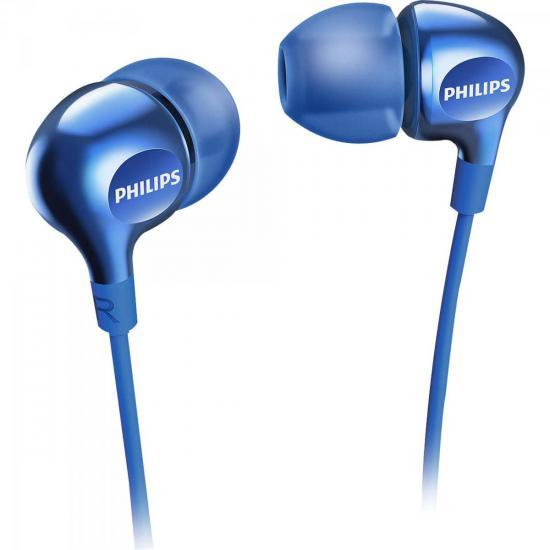 Fone de Ouvido Intra-Auricular SHE3700BL/00 Azul PHILIPS
