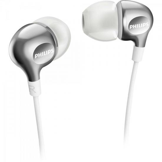 Fone de Ouvido Intra-Auricular SHE3700WT/00 Branco PHILIPS