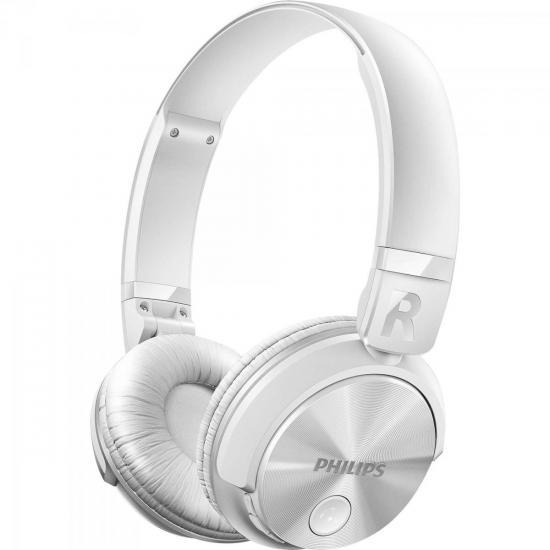 Fone de Ouvido Wireless Bluetooth com Microfone Integrado SHB3060WT/00 Branco PHILIPS