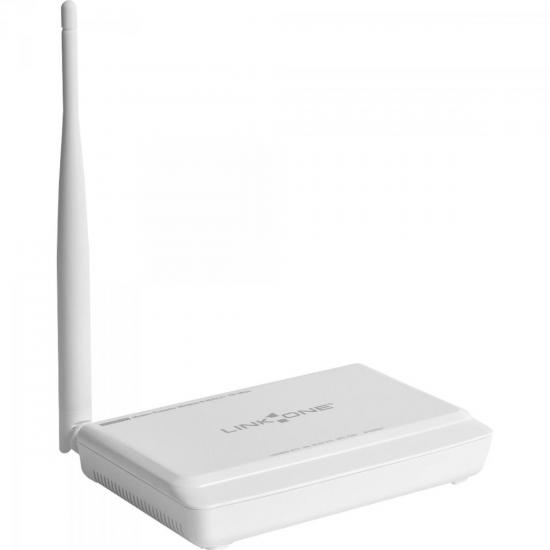 Modem Roteador Wireless ADSL2+ 150Mbps L1-DW121 Branco LINK ONE
