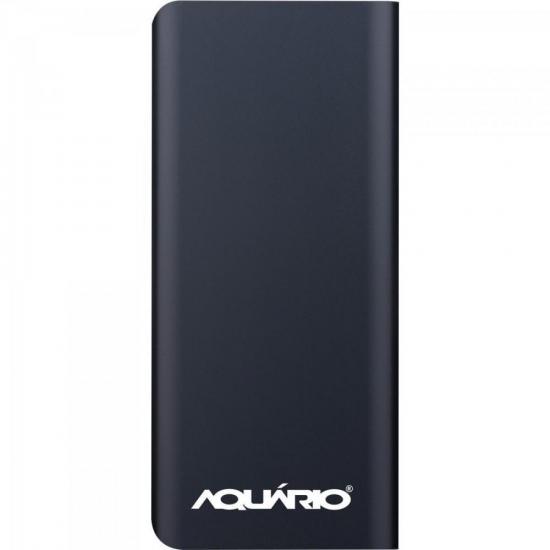 Carregador Portátil USB 10000mAh CP-10000 Preto AQUÁRIO