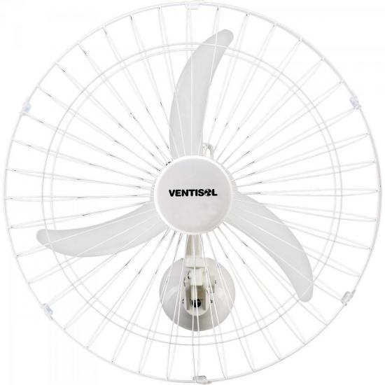Ventilador de Parede 60cm 127V NEW PREMIUM Branco VENTISOL