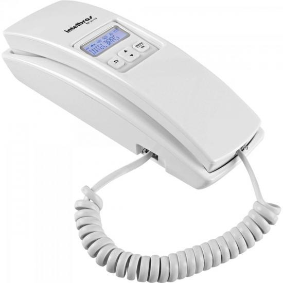 Telefone Gôndola Com Ident. de Chamadas TC2110 Branco INTELBRAS