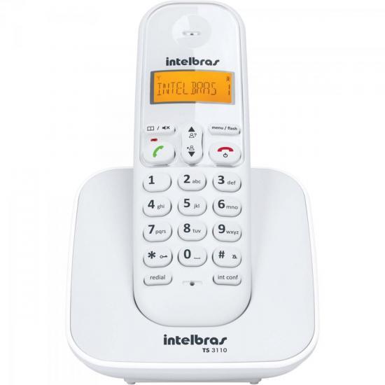 Telefone sem Fio com ID TS-3110 Branco INTELBRAS