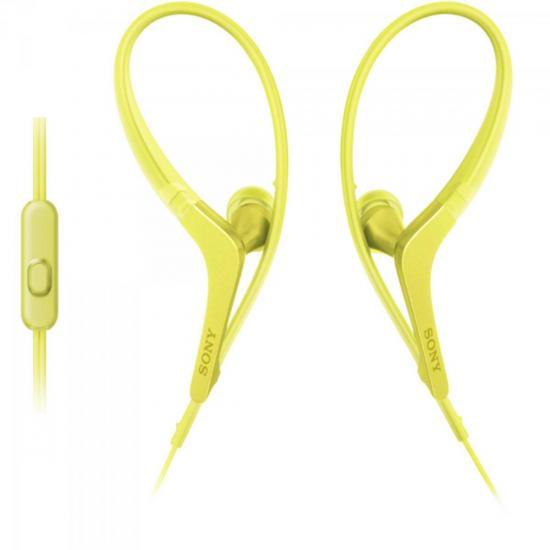Fone de Ouvido Intra-Auricular com Microfone MDR-AS410AP/Y Amarelo SONY