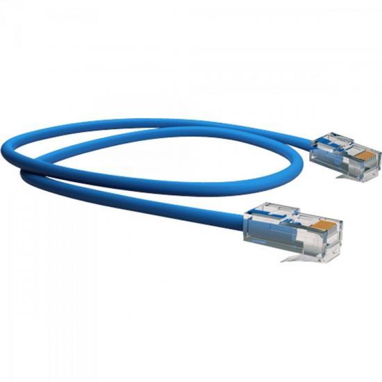 Patch Cord U/UTP CAT6 CMX 2,5m T568A/B Azul SOHOPLUS