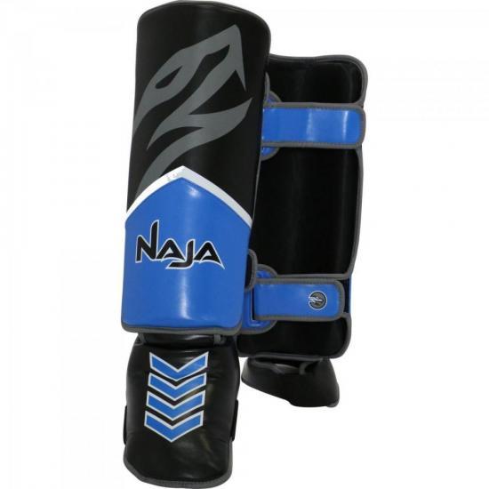 Protetor de Canela NEW EXTREME G Azul NAJA