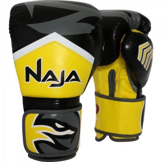 Luva de Boxe NEW EXTREME 14 OZ Amarelo NAJA
