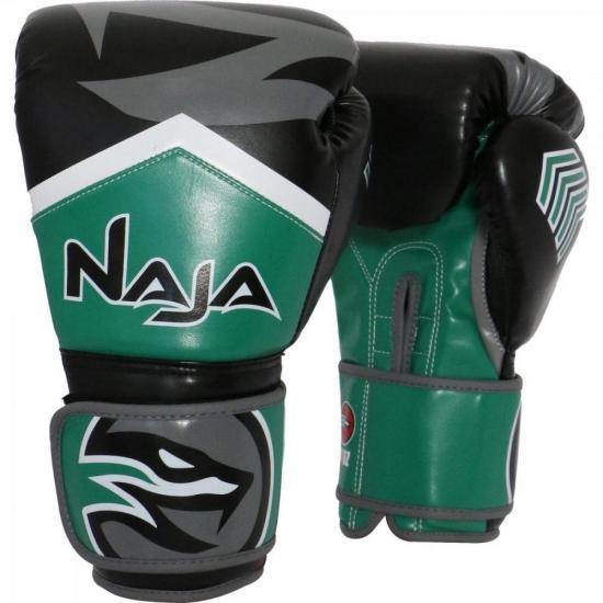 5073842be Luva de Boxe NEW EXTREME 14 OZ Verde NAJA (62226) - Hayonik Indústria