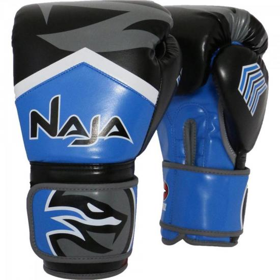 Luva de Boxe NEW EXTREME 10 OZ Azul NAJA
