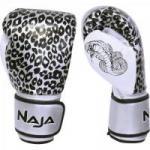 Luva de Boxe ANIMAL PRINT 14 OZ Onça Prata NAJA