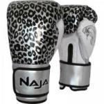 Luva de Boxe ANIMAL PRINT 16 OZ Onça Prata NAJA