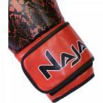 Luva de Boxe ANIMAL PRINT 12 OZ Cobra Vermelha NAJA