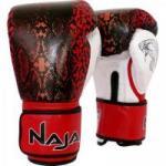Luva de Boxe ANIMAL PRINT 14 OZ Cobra Vermelha NAJA