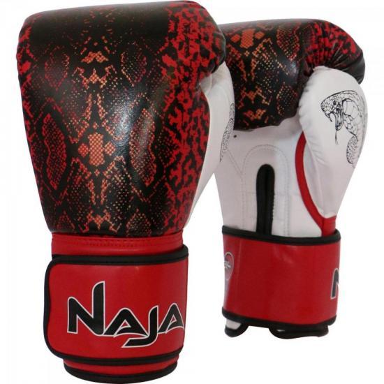 Luva de Boxe ANIMAL PRINT 16 OZ Cobra Vermelha NAJA