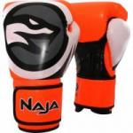 Luva de Boxe COLORS FLUOR 12-OZ Amarela NAJA