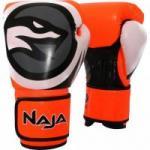Luva de Boxe COLORS FLUOR 16-OZ Amarela NAJA