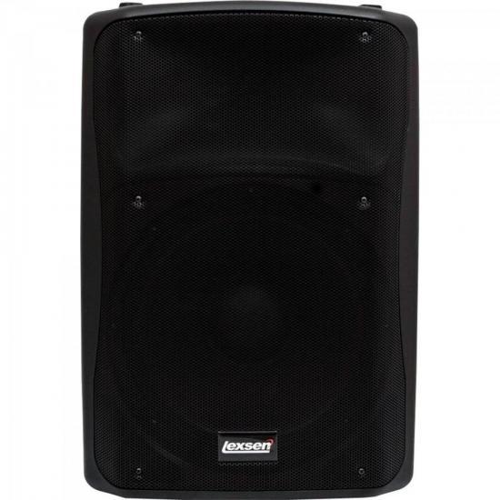 Caixa Acústica Ativa 320W LPX115A Preta LEXSEN
