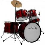 Bateria Infantil JUNIOR 4322 Vinho TURBO