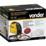 Retificador/Inversor Para Solda Elétrica Bivolt RIV166 Amarelo VONDER