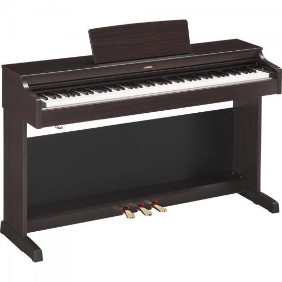 Piano Digital ARIUS YDP-163R Marrom YAMAHA
