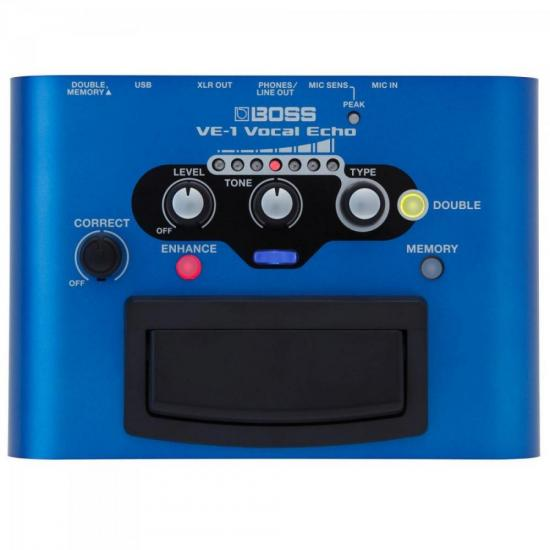 Pedal Efeito de Voz VE-1 Azul BOSS