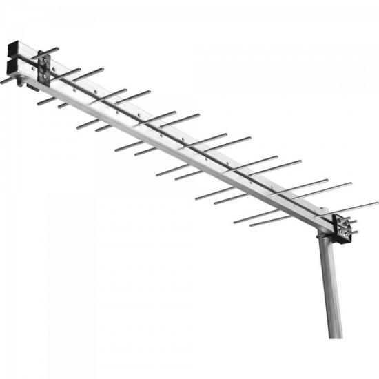 Antena Externa Log Periódica UHF/HDTV Digital LU14 AQUÁRIO
