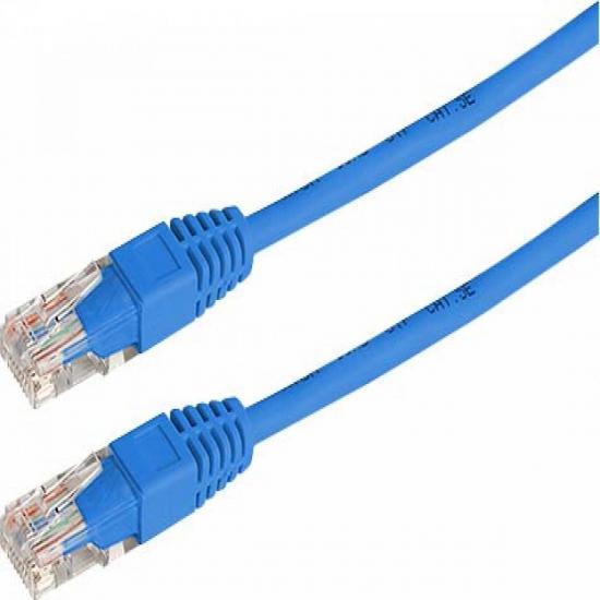 Patch Cord UTP CAT5e 3m CB0379-3M-FU Azul RONTEK
