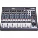 Mesas de Som c/ 12 Canais Stereo Starmix XMS1202R Cinza LL AUDIO