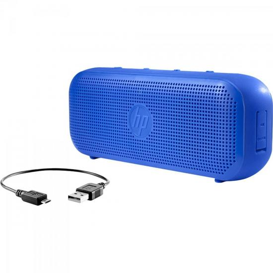 Caixa Multimídia 4W RMS Bluetooth S400 Azul HP