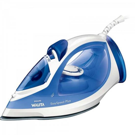Ferro a Vapor 2000W 127V EASY SPEED RI2047/22 Branco/Azul PHILIPS WALITA | GTC
