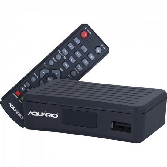 Mini Conversor e Gravador Digital DTV-4000 Preto AQUÁRIO