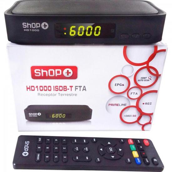 Conversor Digital Terrestre HD1000 Preto SHOP+   GTC