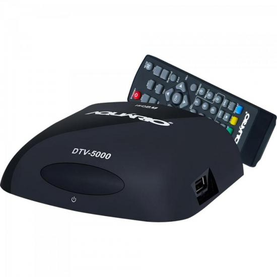 Kit Conversor Digital VHF/UHF/FM/HDTV DTV-5100 AQUÁRIO | GTC