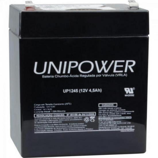 Bateria Selada UP1245 12V/4,5A UNIPOWER | GTC
