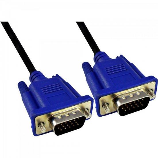Cabo VGA Para Monitor 10m HDB15M X HDB15M CBX-MVGA100 Preto EXBOM
