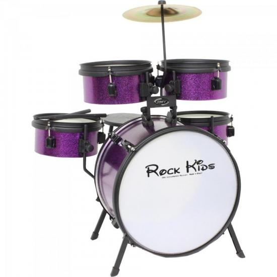 Bateria Infantil ROCK KIDS Purple RMV | GTC