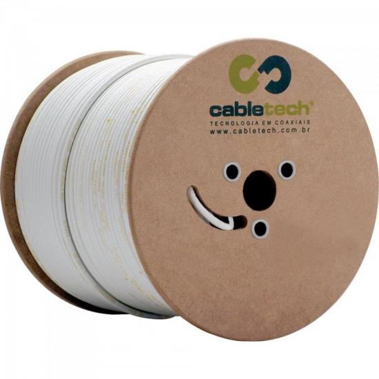 Coaxial RGE 59 67% Branco Bobina 305m CABLETECH | GTC
