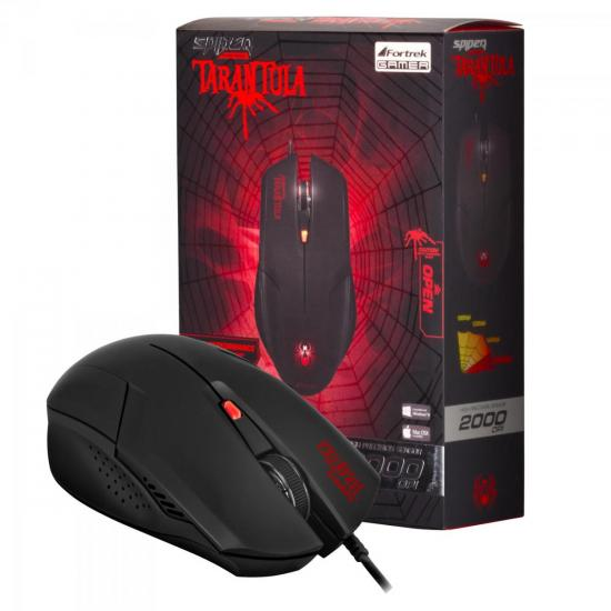 Kit Gamer Mouse + Teclado + Headset SPIDER 2 FORTREK | GTC