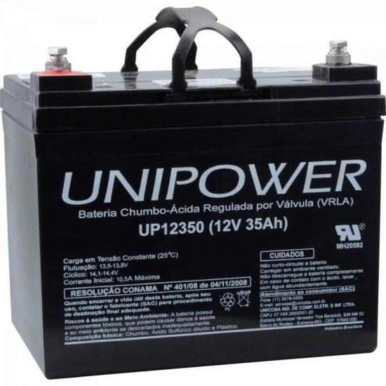 Bateria Selada UP12350 12V/35A UNIPOWER | GTC