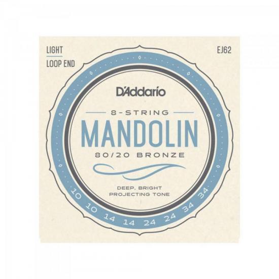 ENC D'ADDARIO P/BANDOLIM EJ62 .010