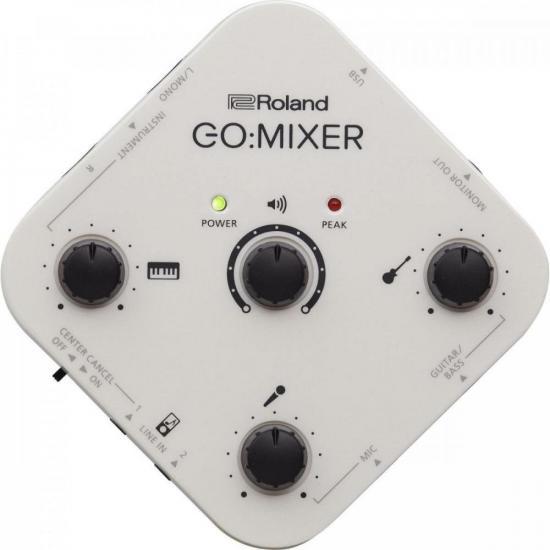 Interface de Áudio para Smartphones Gomixer ROLAND