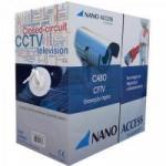 Cabo CFTV UTP 305m 04x24AWG Branco NANO ACCESS